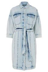 Jeanskleid mit Biesendetails - SET