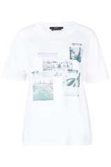 T-Shirt mit Foto-Prints - SET