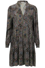 Kleid aus Viskose mit Print - IHEART