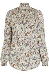 Bluse aus Viskose-Stretch - KUDIBAL