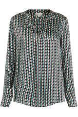 Bluse Santena aus Seiden-Stretch - KUDIBAL