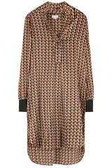 Kleid Katelina aus Seiden-Stretch - KUDIBAL