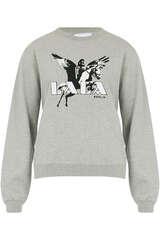 Sweatshirt Irya aus Baumwolljersey - LALA BERLIN