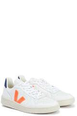 Sneakers V-10 Orange-Fluo Cobalt - VEJA