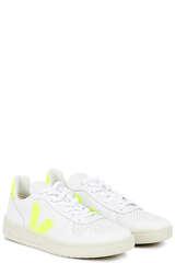 Sneakers V-10 Extra White Jaune Fluo - VEJA