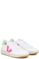 Sneaker V-12 B-Mesh White Sari Absinthe - VEJA
