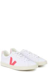 Sneakers Esplar Canvas White  Rose - VEJA