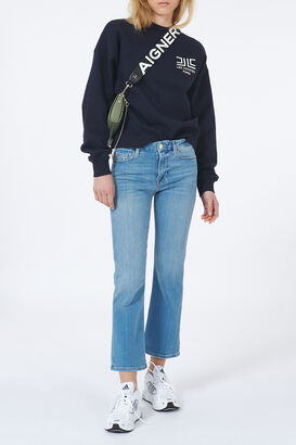 Jeans Le Cropped Mini Boot Melville