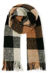 Schal mit Wolle und Alpaka  - WOOLRICH