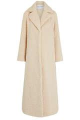 Mantel aus Teddyfell - STAND STUDIO