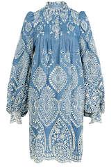 Kleid Tepic mit Lochstickerei - MUNTHE