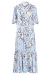 Midi-Kleid Tanta aus Viskose-Stretch - MUNTHE
