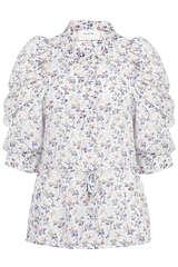 Bluse Tassel aus Baumwolle und Seide - MUNTHE