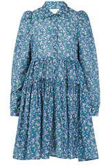 Mini-Kleid Triangle aus Baumwolle und Seide - MUNTHE
