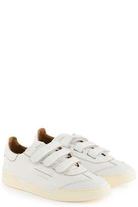 Sneakers Lob Stripes Low Goat/ Leat White