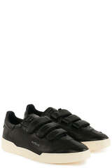 Sneakers Lob Stripes Low Wom Goat/ Leat Black - GHOUD VENICE