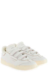 Sneakers Lob Stripes Low Wom Goat / Leat Fur White - GHOUD VENICE