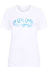T-Shirt Cara Aquarelle Blue - LALA BERLIN