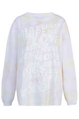 Sweatshirt aus Baumwolle - LALA BERLIN