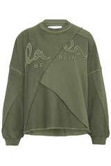 Sweatshirt Izola aus Baumwolle - LALA BERLIN