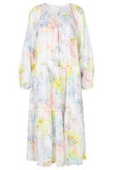 Midi-Kleid Dorian aus Baumwoll-Voile - LALA BERLIN