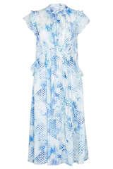 Midi-Kleid Delphi aus Baumwollbatist - LALA BERLIN