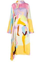Midi-Kleid Arlinda aus Viskose - STINE GOYA