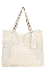 Tasche aus Makramee-Gewebe - YIPPIE HIPPIE