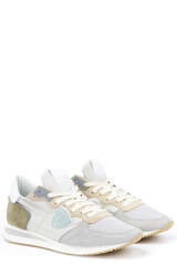 Sneakers TZLD W062 Mondial Gris Blanc - PHILIPPE MODEL
