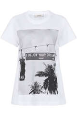 T-Shirt Follow Your Dream - DOROTHEE SCHUMACHER