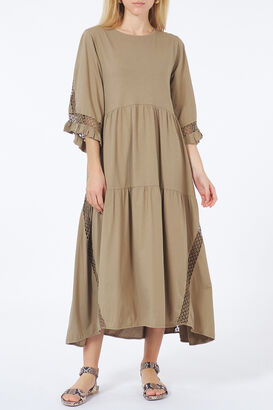 Midi-Kleid Casual Statement