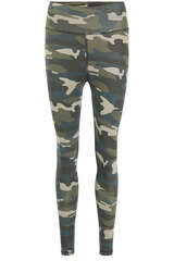Leggings Camo aus Baumwoll-Stretch