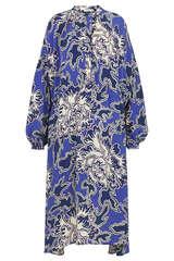 Midi-Kleid aus Viskose und Seide - CLOSED