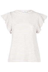 Gestreiftes T-Shirt mit Baumwolle - CLOSED