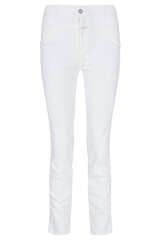 Skinny-Fit Jeans Pusher White Stretch Denim - CLOSED