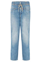 Jeans Anni mit Kordelgürtel - CLOSED