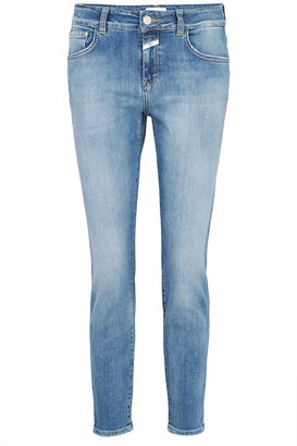 Slim-Fit Jeans Baker Super Stretch Blue Denim