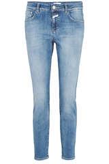Slim-Fit Jeans Baker Super Stretch Blue Denim - CLOSED