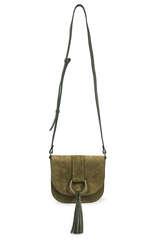 Saddle Bag aus Veloursleder  - CLOSED