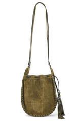 Bucket Bag Lucia aus Veloursleder - CLOSED