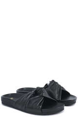 Pantoletten mit Knotenriemen - CLOSED