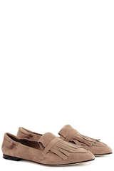 Loafer Grace aus Veloursleder - POMME D´OR