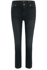 Jeans The Straight Crop Soho Black - 7 FOR ALL MANKIND