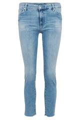 Jeans Prima Crop Low-Rise Cigarette  - AG JEANS