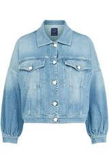 Jeansjacke aus Baumwoll-Stretch - JACOB COHEN