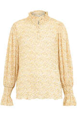 Bluse mit Crinkle-Effekt - SOFIE SCHNOOR