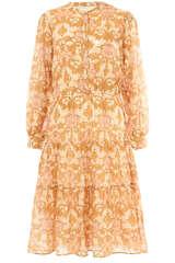 Midi-Kleid mit Floral-Print  - SOFIE SCHNOOR
