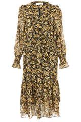 Midi-Kleid Ragna mit Floral-Print - SOFIE SCHNOOR