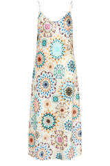 Midi-Kleid Adelaide aus Seidenkrepp - KUDIBAL