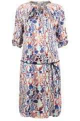 Kleid aus Seiden-Stretch  - KUDIBAL